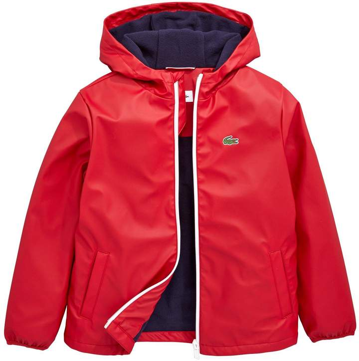 Boys Hooded Windbreaker Jacket