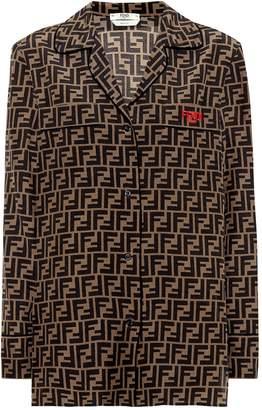 Fendi Silk crepe de chine shirt
