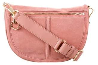 Elizabeth and James Suede Crossbody Bag