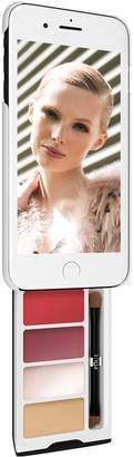 Pout Case - Sheer Glow Kit Makeup Case For iPhone Plus White & Black Case