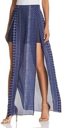 Ramy Brook Jayden Slit-Front Maxi Skirt