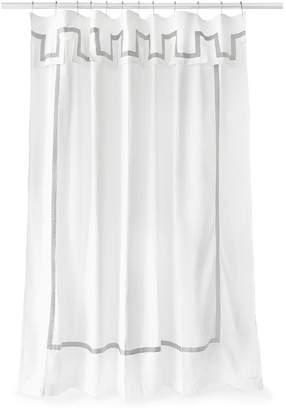 Jonathan Adler Santorini Shower Curtain - Grey & White