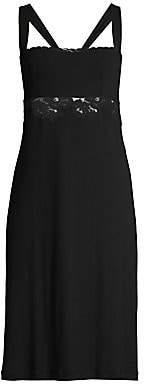 La Perla Women's Amelia Lace-Trim Short Nightgown