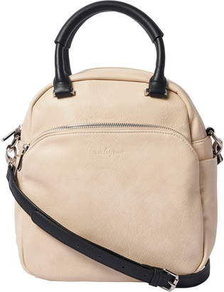 Urban Originals Flower Field Vegan Leather Bowling Bag