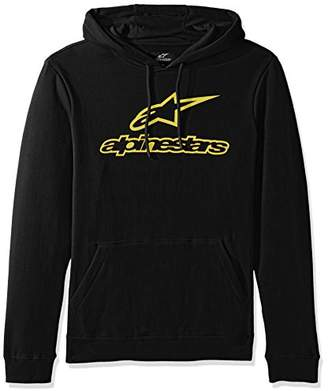 Alpinestars Men's Pullover Hooded Sweatshirt Classic Fit 280 GSM Logo Fleece