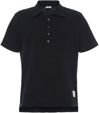 Thom Browne Cotton-Pique Pocket Polo