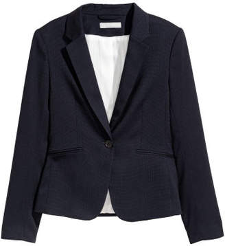 H&M Fitted Blazer - Blue