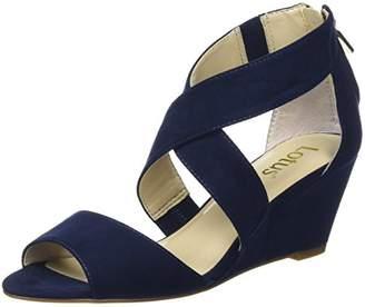 Lotus Women Cheeney Ankle strap wedge sandals,42 EU