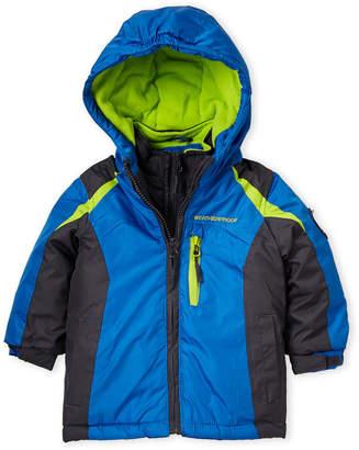 1368c471d Weatherproof Infant Boys) Blue Hooded Ski Jacket