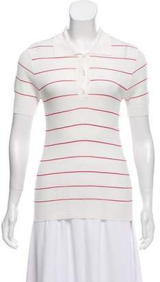 J.W.Anderson Striped Polo Top