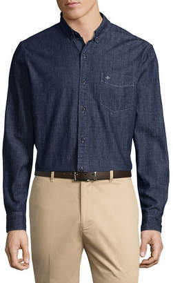Dockers Long Sleeve Button-Front Shirt