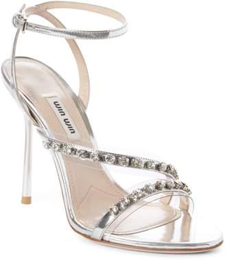 Miu Miu Jewel Strap Sandal