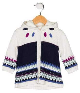 Catimini Girls' Hooded Cardigan w/ Tags