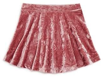 Design History Girls' Crushed Velvet Skirt - Little Kid