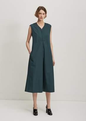 Lemaire Sleeveless Flared Dress Pine Green