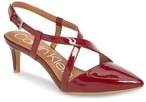 Calvin Klein Paula Pointy Toe Slingback Pump