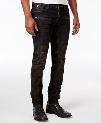 GUESS Men's Slim Tapered Jeans $128 thestylecure.com