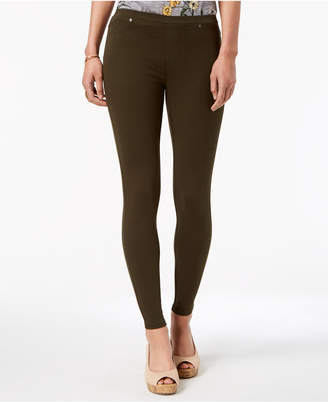 Style&Co. Style & Co Petite Twill Pull-On Leggings, Created for Macy's