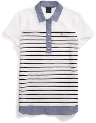 Tommy Hilfiger Layered Stripe Polo