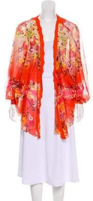 Fuzzi Printed Kimono