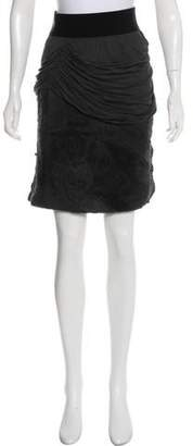 Yigal Azrouel Knit Mini Skirt