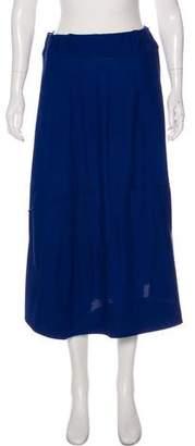 Issey Miyake Knit Midi Skirt