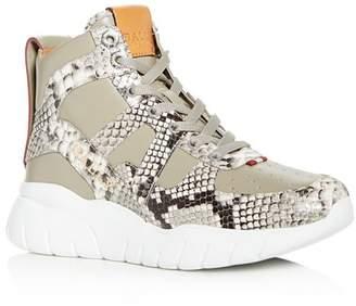 Bally Men's Birko Leather High-Top Sneakers