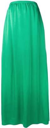 Rochas long flared skirt