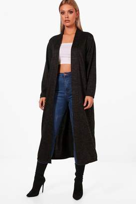 boohoo Plus Lilly Oversized Cardigan