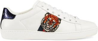 Ace embroidered low-top sneaker $950 thestylecure.com