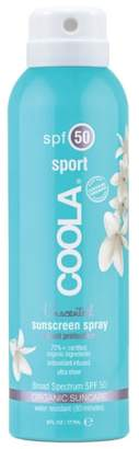 Coola R) Suncare Unscented Sport Sunscreen Spray SPF 50