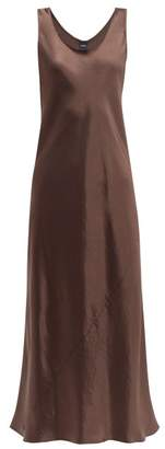 Max Mara Leisure - Talete Dress - Womens - Dark Brown