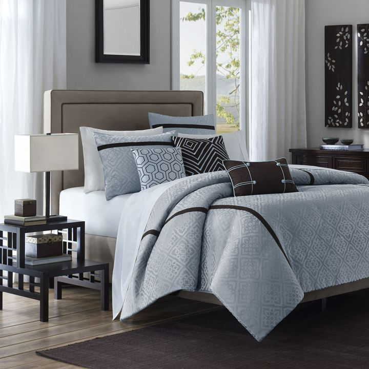 Bed Bath & Beyond Highgate 6-Piece Queen Duvet Set
