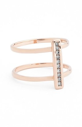 Women's Anna Sheffield 'Licol' Diamond Bar Ring $1,500 thestylecure.com