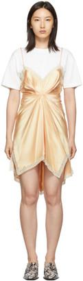 Alexander Wang Pink Cinched T-Shirt Slip Dress