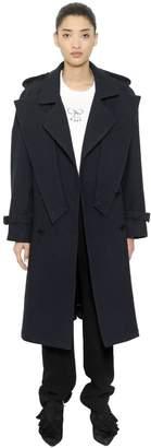 J.W.Anderson Crisscross Wool Trench Coat