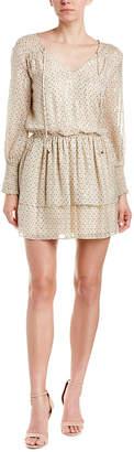 Shoshanna Silk-Blend Tunic Dress