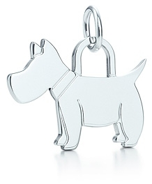 Tiffany & Co. Scottie tag charm