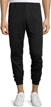 Adidas Striped Track Pants, Black $70 thestylecure.com