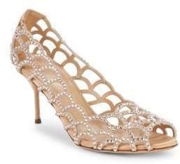 Sergio Rossi Vague Swarovski Crystal Pumps