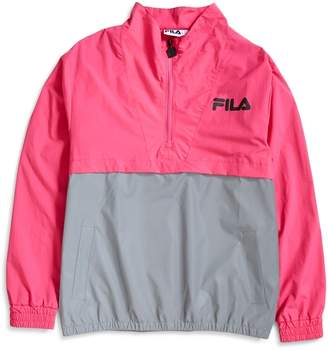 Levi's Fila Black Line Colour Block Jacket Pink