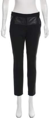 Tibi Mid-Rise Skinny Pants