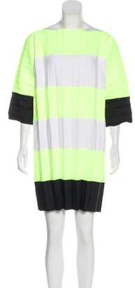 Bernhard Willhelm Pleated Striped Dress