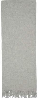 Rag & Bone Grey Wool Classic Scarf