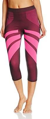 Bellissima Women's Sport Capri Bicolor Trousers