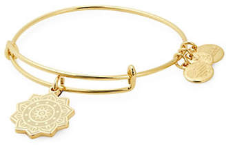 Alex and Ani Solar Plexus Chakra Charm Bracelet