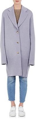 Acne Studios Women's Landi Brushed Wool-Cashmere Melton Coat $1,150 thestylecure.com