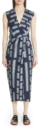Zero Maria Cornejo Block Jacquard Dress