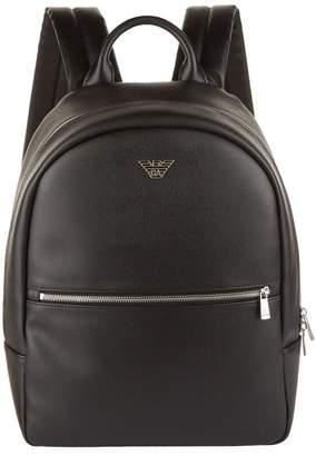 Giorgio Armani Faux Leather Backpack