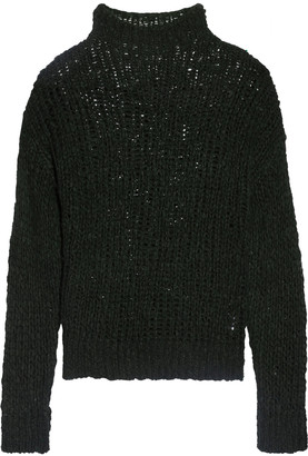 Line Randolph open-knit alpaca-blend sweater $295 thestylecure.com